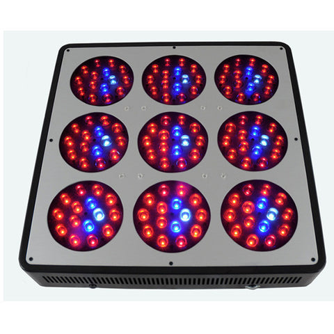 LED Head Grow Lights Official LightHouse Hydro Image - Lighthouse Hydro - BlackStar Chrome 405 watt FSF - Panel - 1