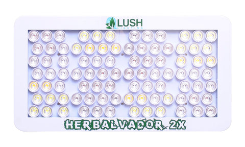 LED Head Grow Lights Official Lush Lighting Image - Lush Lighting - Herbal Vador 2X - 180 Watts - Panel - 1