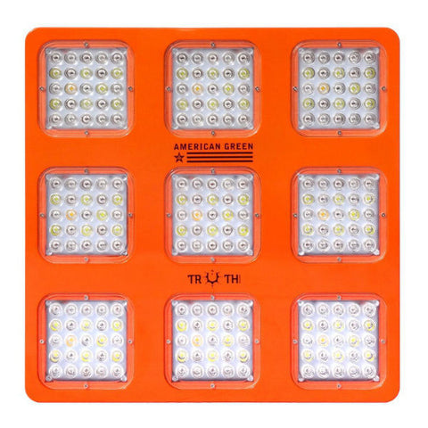 LED Head Grow Lights Official Truth Lighting Image - Truth Lighting - M9 - 415 Watts - Panel - 1
