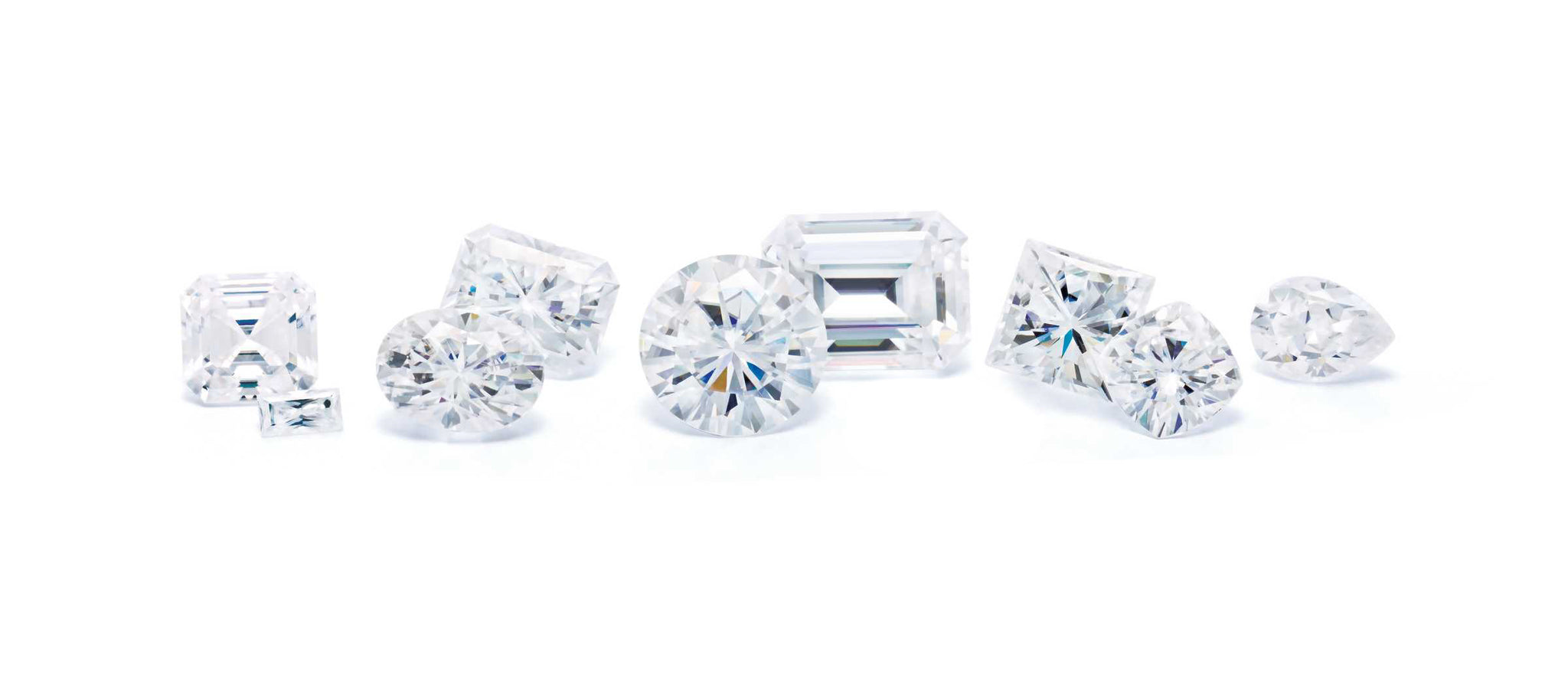 Different Moissanite Shapes