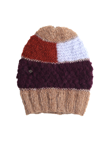Color Block Alpaca Hat