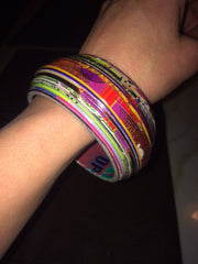 Colorful Bangle Bracelet