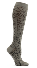 Knee Socks in Mosaic Pattern