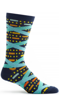 Double Helix Socks