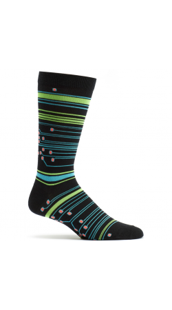 Ozone Design Circuit Stripes Socks