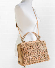 Brent & Bree Vegan Floral Cork Purse