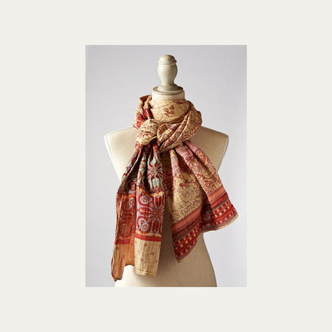 Paprika Spiced Organic Cotton Scarf
