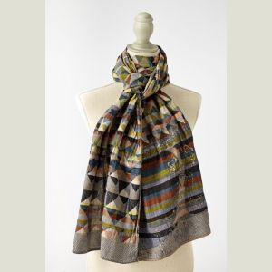 Milan Organic Cotton scarves by Letol