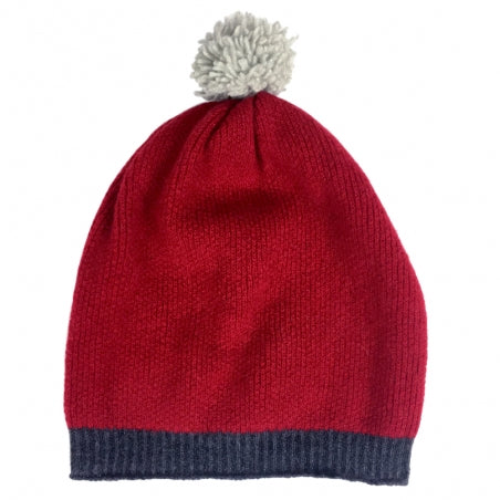 Ski Hat with Pom Pom