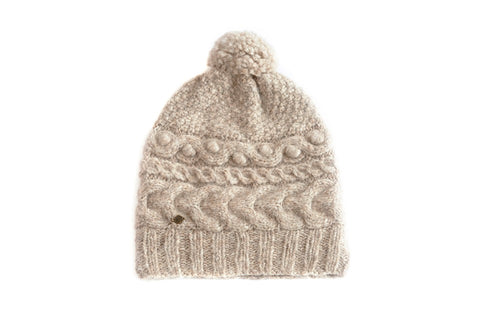 Soft and Dreamy PomPom Hat