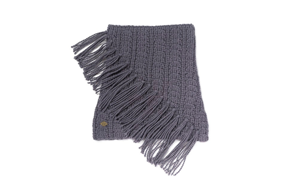 Emilime Beau Neck Scarf in Graphite