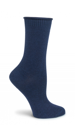 Ladies Wool &  Silk Ankle Sock by Ozone Designs