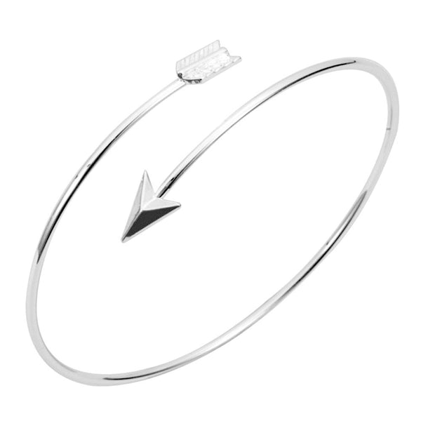 Open Cuff Arrow Bracelet