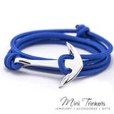 Rope Anchor Wrap Around Bracelet