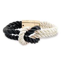 Magnetic Braided Infinity Knot Bracelet