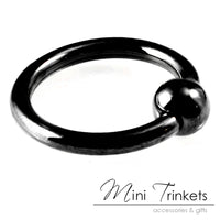 Stainless Steel Captive BCR Ring