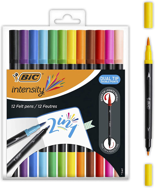 Bic Intensity Dual Tip Pens 12pk