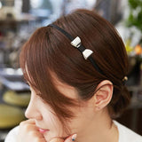 Cute Metal Bow Head band - Mini Trinkets
