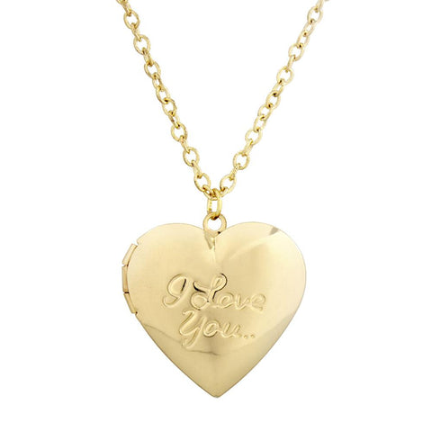 I Love you heart locket