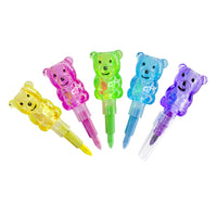 Gummy Bear Stackable Swapping Crayon Pen - Mini Trinkets