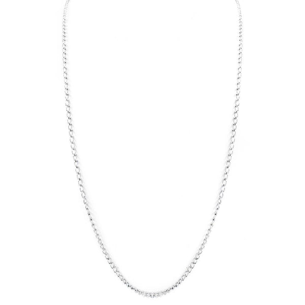 Silver Plated Chain Necklace - Mini Trinkets
