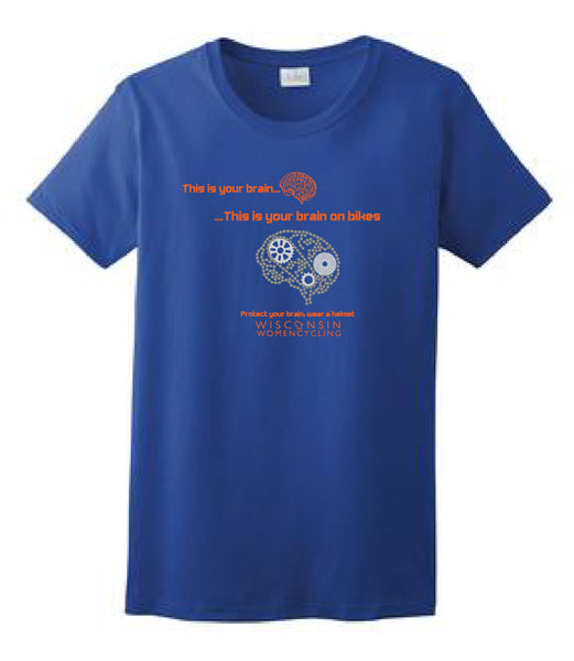 Z6TBB T-Shirt - Bike on the Brain CLOSEOUT DEAL