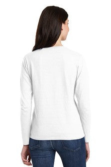 Z5LST Long Sleeve T-shirt - WWC on Ladies 100% Heavy Cotton Tee CLOSEOUT DEAL