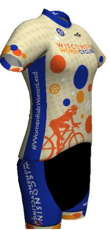 Powerband Bib-Short with Team Jersey (sold separately)