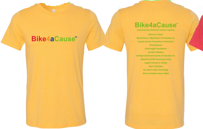 Tee Bike4aCause Ride Shirt - men's sizing