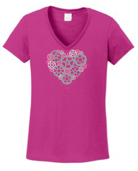 Z6HS T-shirt - Heart Full o' Sprockets - CLOSEOUT