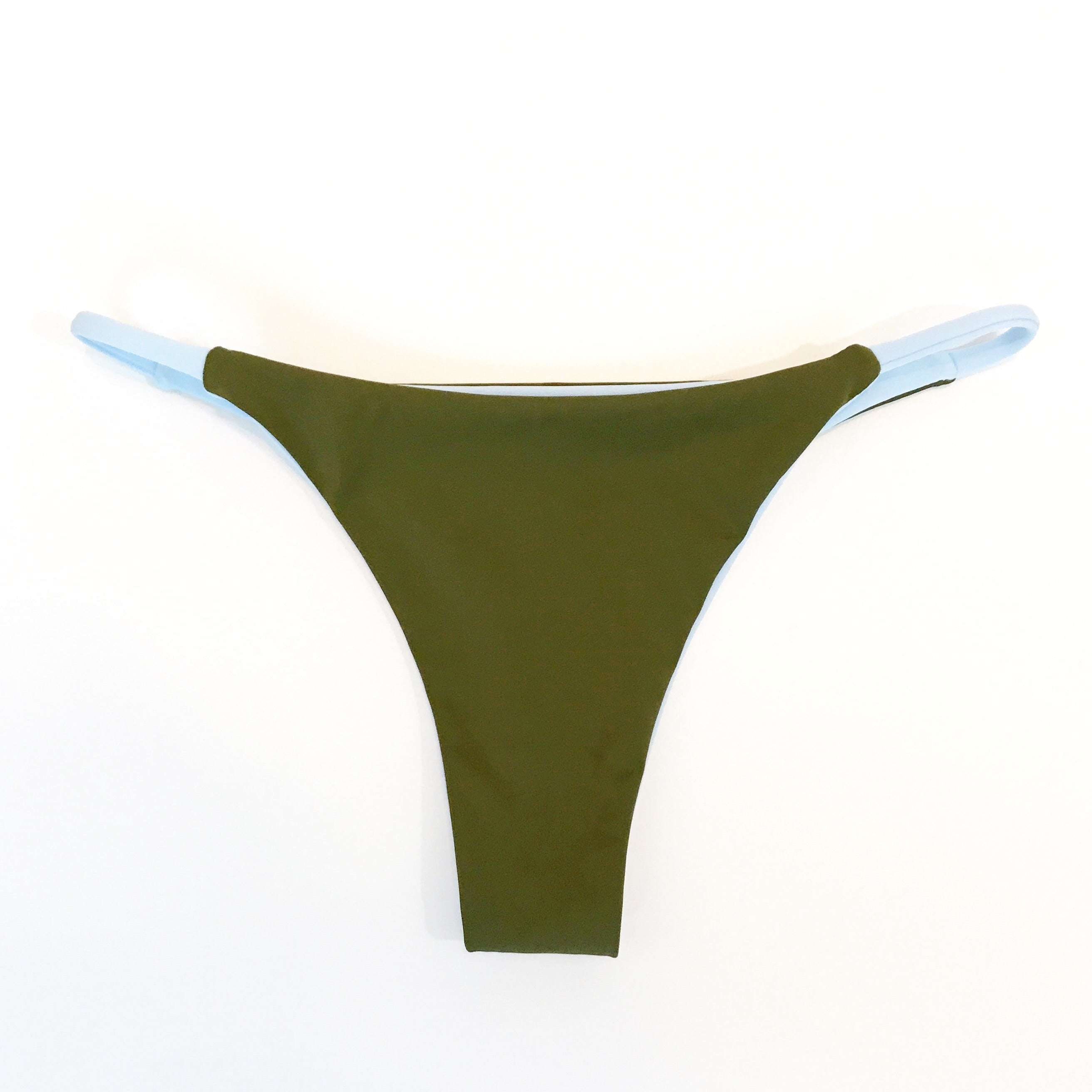 Fiji Bottom in Sky/Olive