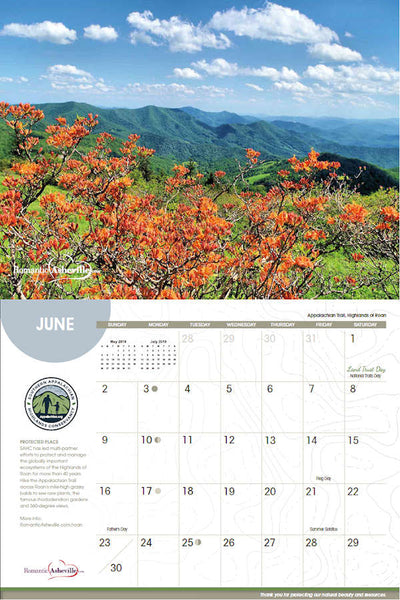 2019 Protecting Places Calendar