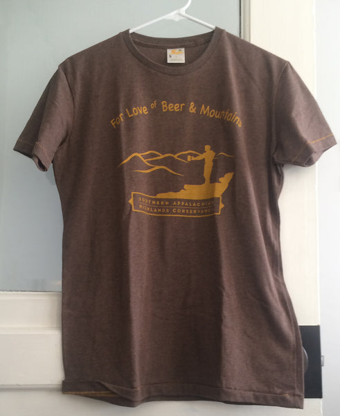"""For Love of Beer & Mountains"" Vintage Shirt"