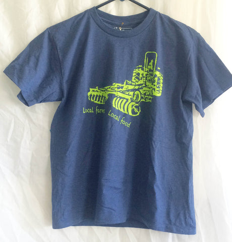 Local Farms = Local Food Tractor Shirt