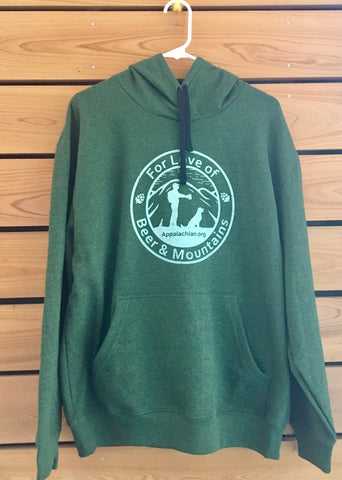"""For Love of Beer & Mountains"" Pullover Hoody"