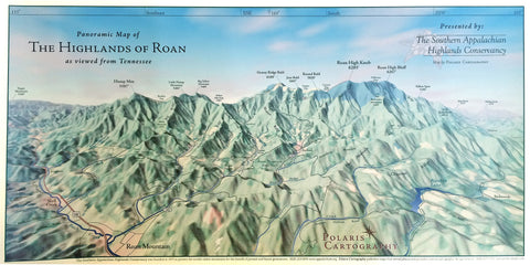 Map of the Highlands of Roan