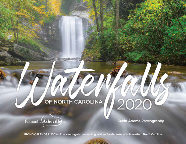 2020 Waterfalls of NC Calendar to support conservation