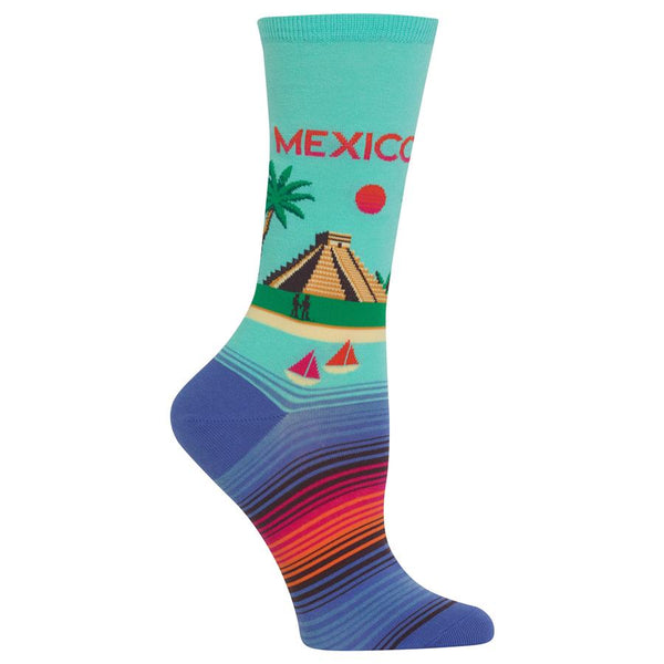 HotSox Women's Mexico Socks - Jilly's Socks 'n Such