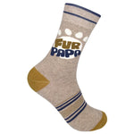 Funatic -Fur Papa - Novelty Socks, Mens, Womens, Kids