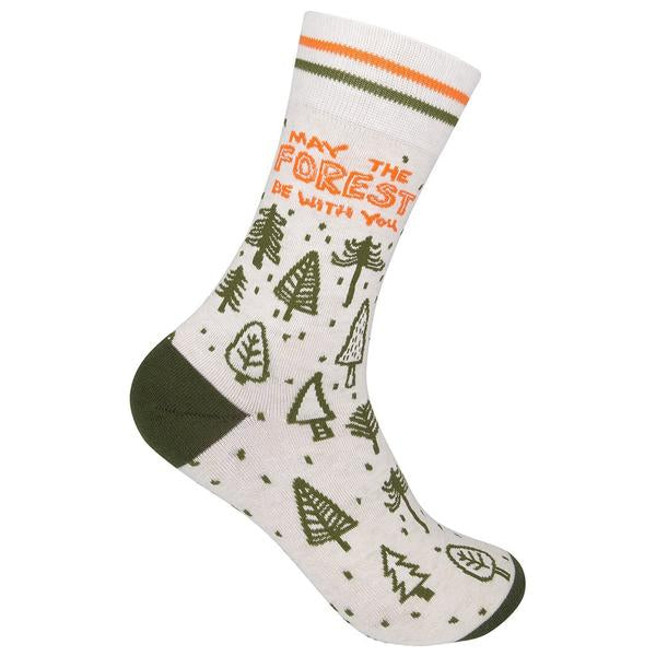 """May the Forest Be With You"" Socks - One Size - Novelty Socks, Mens, Womens, Kids"
