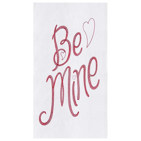 """Be Mine"" Valentines Day Kitchen Towel"