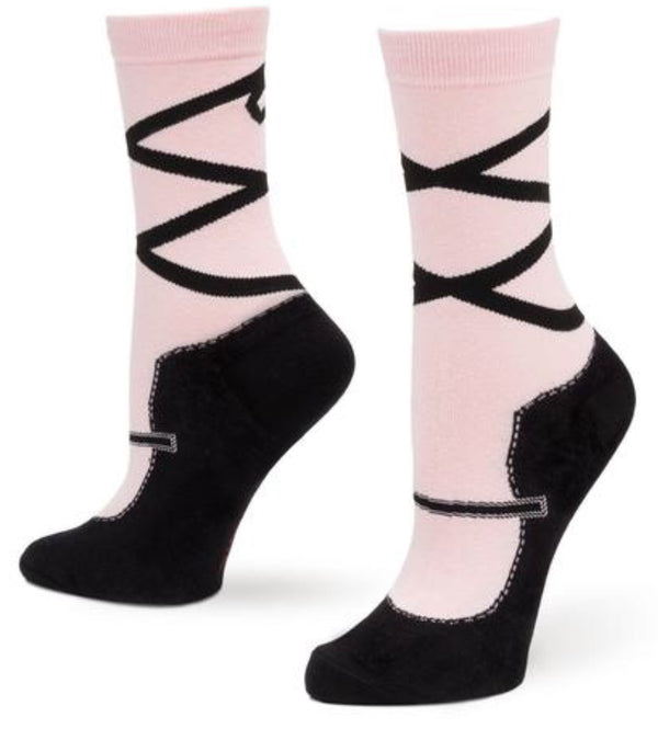 Women's Slipper Socks - Ballerina - Jilly's Socks 'n Such