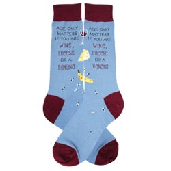 Men's - Age only Matters... Socks - Novelty Socks, Mens, Womens, Kids