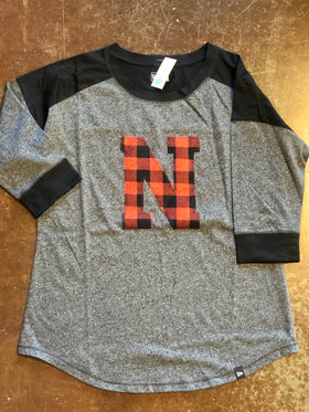 Women's Buffalo Check T-Shirt
