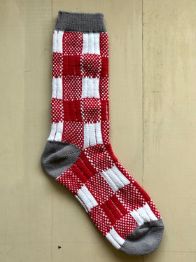 Women's World's Softest Socks - Crimson White