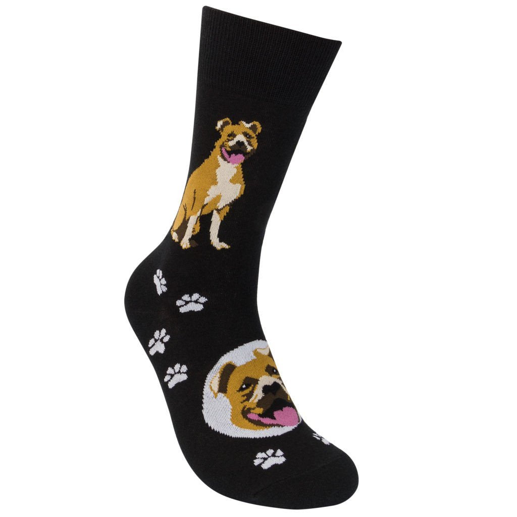 Pit Bull Breed Socks - One Size - Novelty Socks, Mens, Womens, Kids