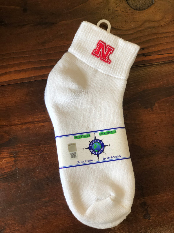 Nebraska Classic Ankle Cuff Sock - Novelty Socks, Mens, Womens, Kids