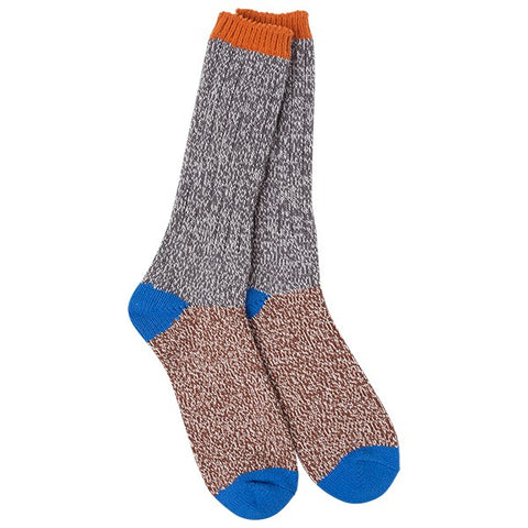 Men's Worlds Softest Socks Ragg Seaboard Colorblock - Novelty Socks, Mens, Womens, Kids