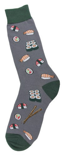 Mens Sushi Roll Socks