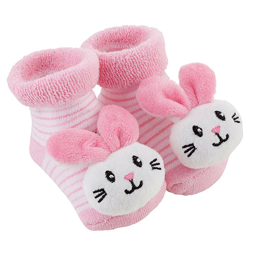 Kids Baby Animal Rattle Socks - Novelty Socks, Mens, Womens, Kids